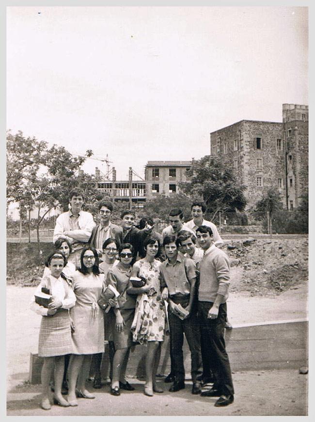Era il 1968 ecco la classe di maria luisa for Maria luisa manca